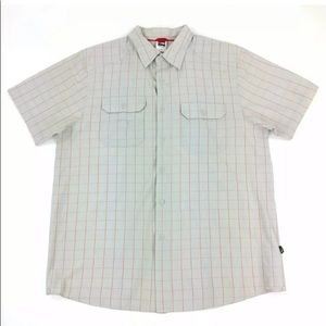 The North Face S/S Button Front Shirt Size Large